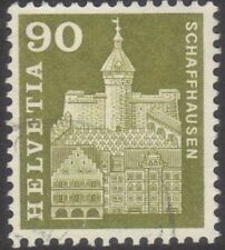 Architecture Swiss Stamps