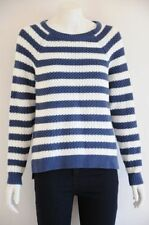Women's Striped Medium Knit 100% Cotton Jumpers & Cardigans