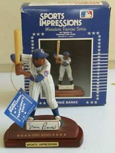 1990 Sports Impressions Ernie Banks Figurine Yesterday's Star Series New in Box