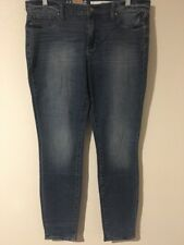 NWT DKNY Women's Legging Very Slim Fit Low Rise Blue Jeans Size 12X31 - 35WX30L