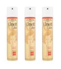 3pz L'OREAL ELNETT SATIN lacca capelli Fissaggio Normale 250ml NUOVA E ORIGINALE