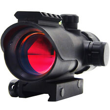 LASPUR Tactical Green Red Dot Sight with Level Multi Reticle Extra Rail Mount