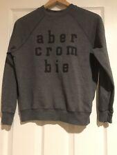 Abercrombie Kids Grey Logo Sweatshirt Size Small