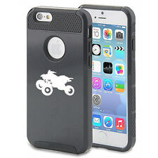 For iPhone SE 5 5s 5c 6 6s 7 Plus Shockproof Impact Hard Soft Case ATV 4 Wheeler