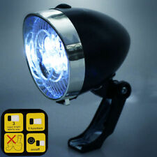 Dunlop led luz de bicicleta bicicleta apagados retro faro frontal iluminación