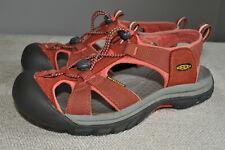 KEEN Venice H2 Orange Ballistic Nylon & Leather Sport Sandals  39 Women 8.5 M
