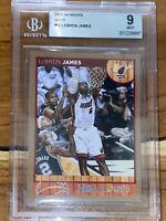 💎POP 1!💎 2013-14 LeBron James PANINI NBA HOOPS GOLD #62 BGS 9 PSA lakers HOT🔥
