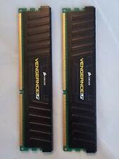 Corsair Vengeance LP 8GB (2x4GB) 1600 PC3-12800 DDR3 Memory (CML8GX3M2A1600C9)