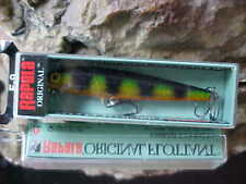 "Rapala 3 1/2"" Original Floating F09 P in (PERCH) for Bass/Walleye/Pike/Trout"