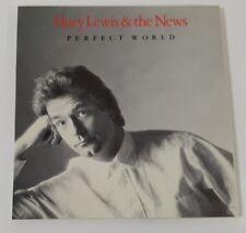 HUEY LEWIS & THE NEWS - 3 INCH SINGLE - PERFECT WORLD