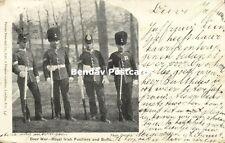 BOER WAR, Royal Irish Fusiliers and Buffs, Uniform (1901)