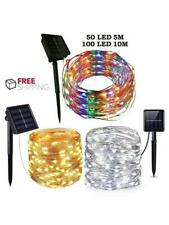 Outdoor Solar String Lights Waterproof 10M 100 LED Copper Wire Light String Xmas