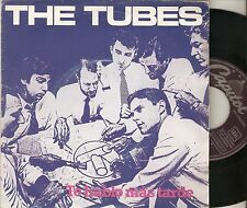 """THE TUBES 7"""" SPAIN 45 TALK TO YOU LATER + WHAT´S WRONG 1981 Promo POWER POP ROCK"""
