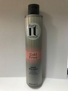 that's it ALFAPARF Gold Fever Shampoo WARM BLONDES 250ml / 8.45 fl.oz.