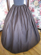 Long Dark Brown Pirate Wench Renaissance Festival Steampunk One Size 4 all SKIRT