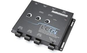 AUDIO CONTROL LC6i / 6 CH LINE OUT CONVERTER w/ INTERNAL SUMMING - BLACK **NEW**