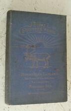 Vintage Book 1924 Bible Pioneer Work in Norwegian Lapland Wangberg H/B Illustrat