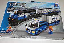 Ausini TRAINS Set #25111 Building Block Toy 1008pcs cargo truck (lego compatible