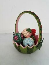 """Jim Shore """" A Taste of Summer's Goodness"""" Decorative Basket Collectible"""