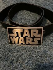 Star Wars Buckle And Leather Belt