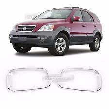 Chrome Side Mirror Cover Garnish Molding Trim K377 2P For KIA 2003-2009 Sorento