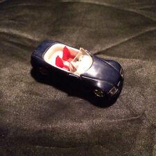 Vintage German Miniature Toy Convertible Sports Car.