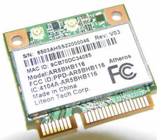 ATHEROS AR9382 AR5BHB116 Wireless Wifi N Half MINI PCIE Card