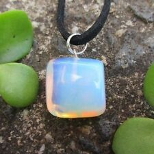 OPALITE Crystal Gemstone Pendant ATTRACT ANGELS ~ SPIRITS Tumbled Stone Necklace
