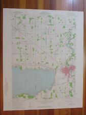 Aloha Michigan 1961 Original Vintage USGS Topo Map
