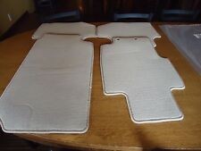 2002-07 HONDA ACCORD 2 DOOR COUPE OEM # YR239L  CARPET FLOOR MATS IVORY / TAN