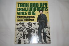 WW1 WW2 German British Tank and AFV Crew Uniforms since 1916 Reference Book