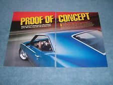"""Detroit Speed 1969 Camaro Pro-Touring Article """"Proof of Concept"""" RS/SS"""