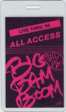 HALL & OATES 1985 Laminated Backstage Pass Black