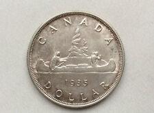 1935 Canada Dollar George V 80% Silver Canadian Coin D9980