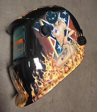 Hot Girl WELDING HELMET AUTO DARKENING w/ grinding and mask $$$###