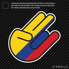 Colombian Shocker Sticker Die Cut Decal Self Adhesive Vinyl Colombia COL CO