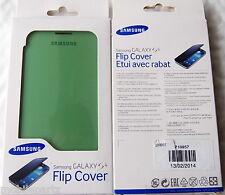 Genuine Samsung Galaxy S4 i9500 Lime Green Flip Pouch Case EF-FI950BGEGWW