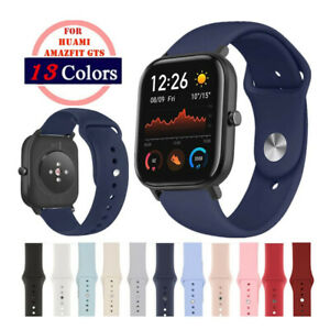 Watch Bands for Amazfit GTS, Quick Release 20mm Silicone Sport Watch Strap A#