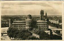 Germany AK Munchen München Deutsches Museum 1927 cover real photo sepia postcard