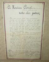 Document Maitre-Cordonnier 8° Chasseurs a Pieds 1917