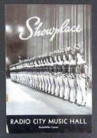 Showplace Radio City Music Hall Program 1957 James Stewart Spirit of St. Louis