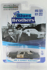 A.S.S NEU GreenLight 1/64 Jake & Elwoods Bluesmobile The Blues Brother Hollywood