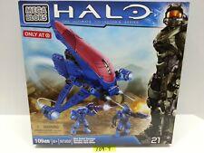 HALO MegaBloks 97202 - Blue Series BANSHEE mega bloks NEW NISB Target EXCLUSIVE