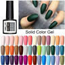 LEMOOC 8ml Nail Art Vernis Gel UV Soak Off Manucure Gel Polish Top Base Coat