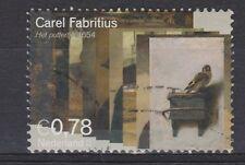 NVPH Netherlands 2294 used Het puttertje DUTCH PAINTER FABRITIUS 2004