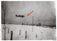 17364/ Originalfoto 9x6cm, Junkers Ju 52 Anflug auf Feldflugplatz Lipowka, 1942