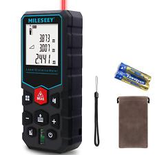 Mileseey X5 Laser Distance Measurer 130 196ft Digital Measuring Automatic Level