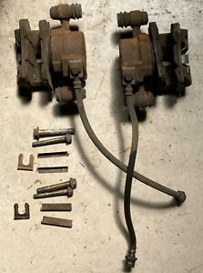 FORD EB FAIRMONT PAIR FRONT DISC BRAKE CALIPERS PBR SUIT EA EB ED XG XH WRECKING