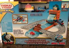 Fisher-Price Thomas & Friends Take-n-Play Portable Railway Water Works Rescue