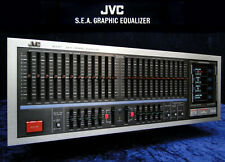 Vintage Equalizer JVC SEA-R7 Sound Effect Amplifier S.E.A.-R 7 - 2x 12 Band EQ